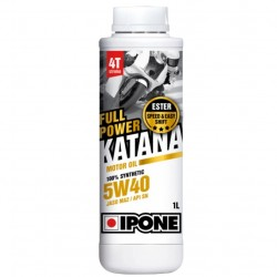 Huile Moteur Ipone Full Power Katana 100% Synthèse 5W40 4T