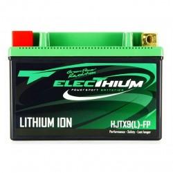 Batterie Lithium Electhium HJTX9(L)-FP / YTX9-BS 3 Ah 12 Volts