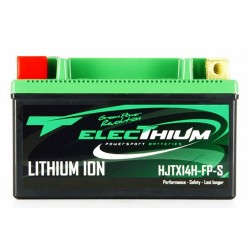 Batterie Lithium Electhium HJTX14H-FP-S / YTX14-BS 4 Ah 12 Volts