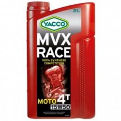 Huile Moteur YACCO MVX Race 15W50 4T
