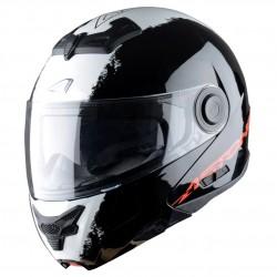 Casque Astone RT800 Stripes Noir / Blanc