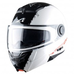Casque Astone RT800 Stripes Blanc / Noir